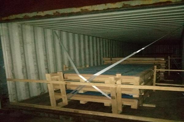 aluminum sheet loading