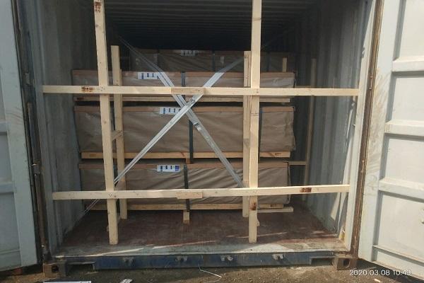 Alu sheet loading