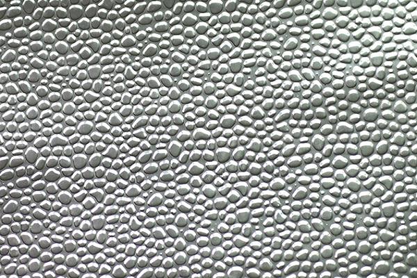 hammered aluminum plate